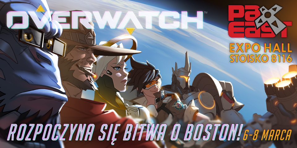 Pax East Overwatch