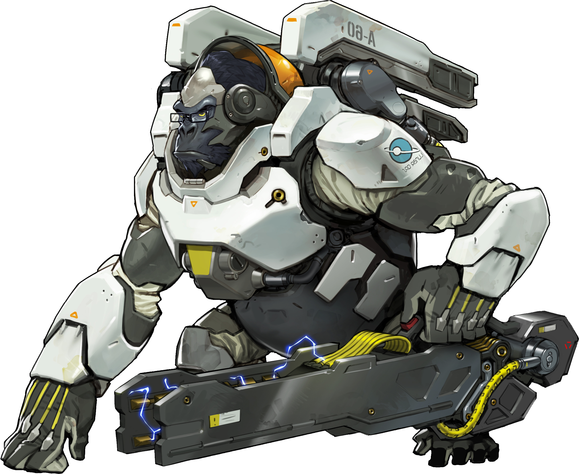 winston overwatch how tall