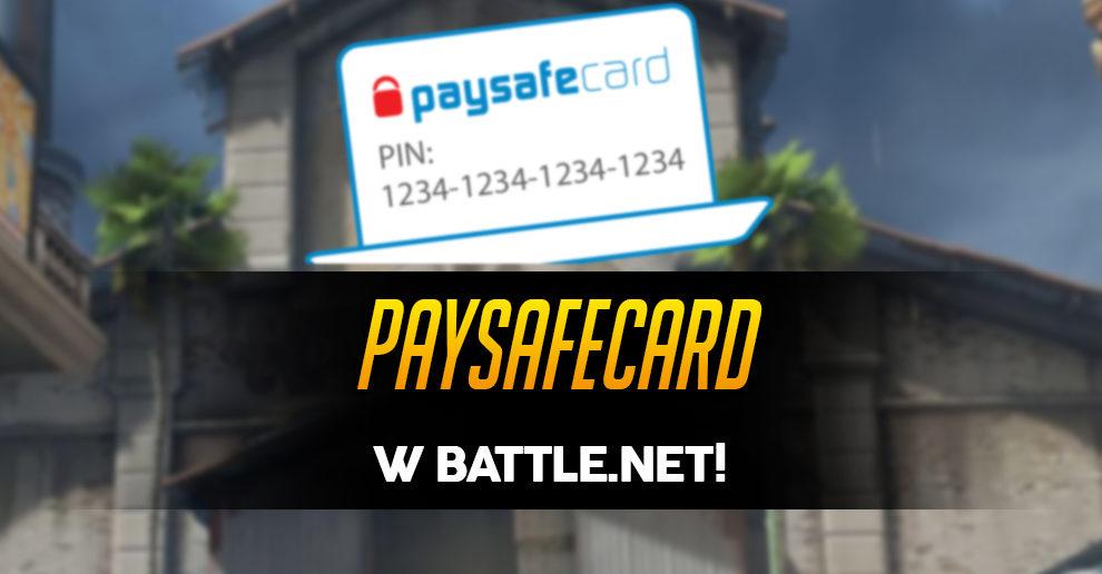 Battle.Net Paysafecard